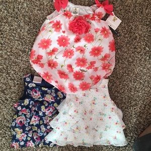 Other - Baby girl tops and romper